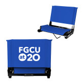 Stadium Chair Royal-FGCU at 20 Stacked