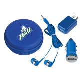 3 in 1 Royal Audio Travel Kit-Primary Athletic Mark