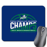 Full Color Mousepad-Regular Season Champions 2017 Mens Basketball Half Ball Design