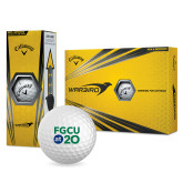 Callaway Warbird Golf Balls 12/pkg-FGCU at 20 Stacked