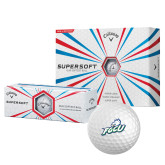 Callaway Supersoft Golf Balls 12/pkg-Primary Athletic Mark