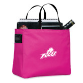 Tropical Pink Essential Tote-Primary Athletic Mark