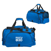 Challenger Team Royal Sport Bag-FGCU at 20 Stacked