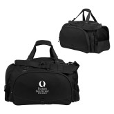 Challenger Team Black Sport Bag-University Mark Stacked