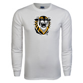 White Long Sleeve T Shirt-Victor E. Tiger