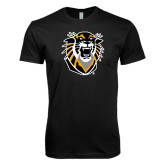 Next Level SoftStyle Black T Shirt-Victor E. Tiger