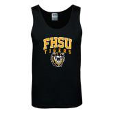 Black Tank Top-Arched FHSU Tigers w/ Tiger