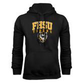 Black Fleece Hoodie-Arched FHSU Tigers w/ Tiger