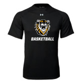 Under Armour Black Tech Tee-Basketball