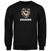Black Fleece Crew-Grandma