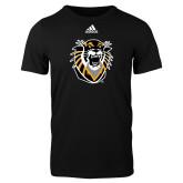 Adidas Black Logo T Shirt-Victor E. Tiger