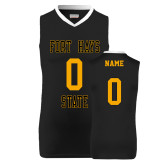 Replica Black Adult Basketball Jersey-Personalzied