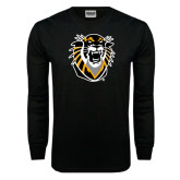Black Long Sleeve TShirt-Victor E. Tiger
