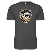 Next Level SoftStyle Charcoal T Shirt-Victor E. Tiger
