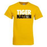 Gold T Shirt-Tiger Nation