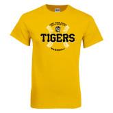 Gold T Shirt-Circle Seams Designs