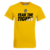 Gold T Shirt-Fear The Tigers