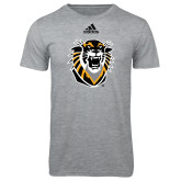 Adidas Sport Grey Logo T Shirt-Victor E. Tiger