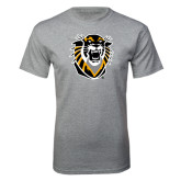 Grey T Shirt-Victor E. Tiger