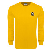 Gold Long Sleeve T Shirt-Victor E. Tiger