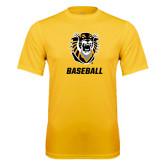 Performance Gold Tee-Baseball