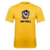 Performance Gold Tee-Softball