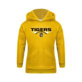 Youth Gold Fleece Hoodie-Football Design
