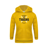 Youth Gold Fleece Hoodie-Circle Seams Designs