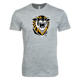 Next Level SoftStyle Heather Grey T Shirt-Victor E. Tiger
