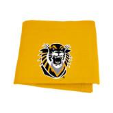 Gold Sweatshirt Blanket-Victor E. Tiger