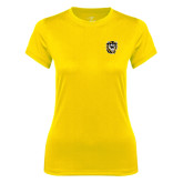 Ladies Syntrel Performance Gold Tee-Victor E. Tiger