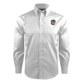 Red House White Dobby Long Sleeve Shirt-Victor E. Tiger