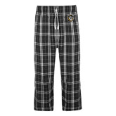 Black/Grey Flannel Pajama Pant-Victor E. Tiger