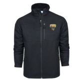 Columbia Ascender Softshell Black Jacket-Arched FHSU Tigers w/ Tiger