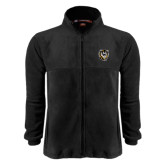 Fleece Full Zip Black Jacket-Victor E. Tiger