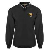 Black Executive Windshirt-Arched FHSU Tigers w/ Tiger