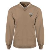 Khaki Executive Windshirt-Arched FHSU Tigers w/ Tiger