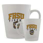 Full Color Latte Mug 12oz-Arched FHSU Tigers w/ Tiger