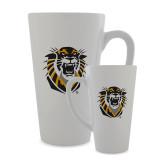 Full Color Latte Mug 17oz-Victor E. Tiger