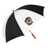 64 Inch Black/White Vented Umbrella-Victor E. Tiger
