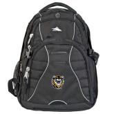 High Sierra Swerve Black Compu Backpack-Victor E. Tiger