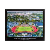 Lewis Field & City of Hays Print-