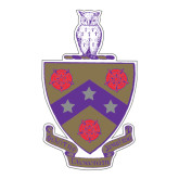 Large Decal-Crest, 12 inches tall