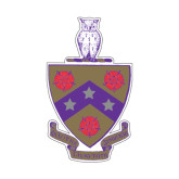 Small Decal-Crest, 6 inches tall