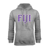Grey Fleece Hoodie-FIJI Two Color