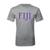 Grey T Shirt-FIJI