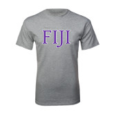 Grey T Shirt-FIJI Two Color