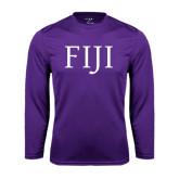 Performance Purple Longsleeve Shirt-FIJI