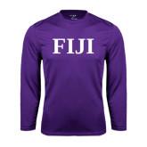 Performance Purple Longsleeve Shirt-FIJI Contemporary