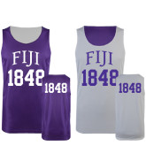 Purple/White Reversible Tank-Arched FIJI